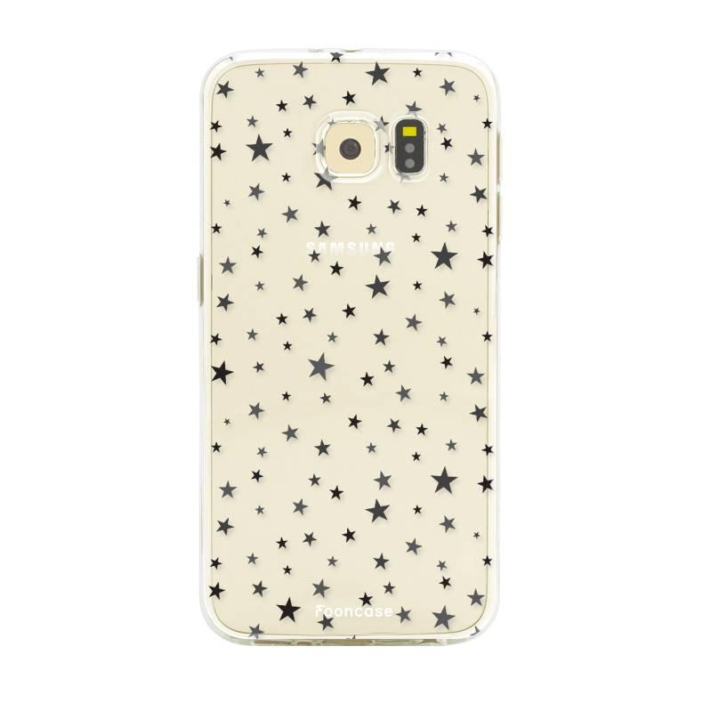 FOONCASE Samsung Galaxy S6 Edge Handyhülle - Sterne