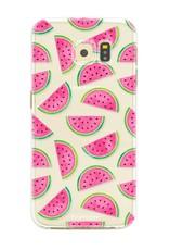 FOONCASE Samsung Galaxy S6 Edge Handyhülle - Wassermelone