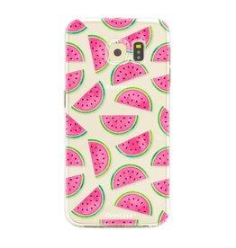FOONCASE Samsung Galaxy S6 Edge - Wassermelone