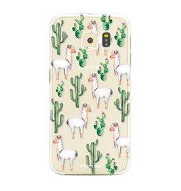 FOONCASE Samsung Galaxy S6 Edge - Alpaca