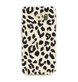 FOONCASE Samsung Galaxy S6 Edge - Leopard