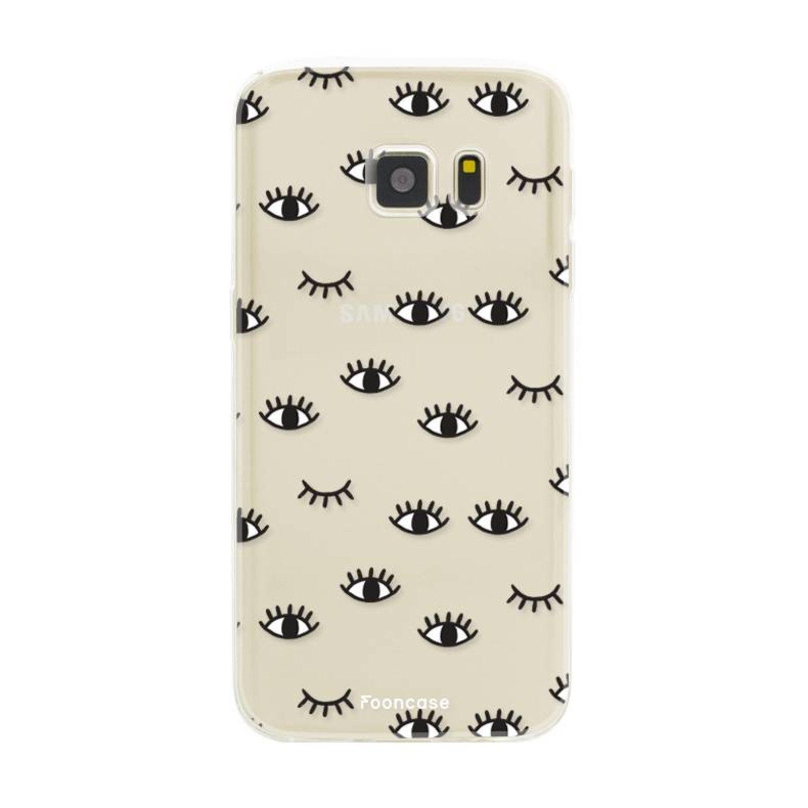 FOONCASE Samsung Galaxy S7 Handyhülle - Eyes