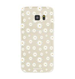 FOONCASE Samsung Galaxy S7 - Daisies