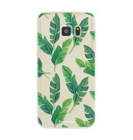 FOONCASE Samsung Galaxy S7 - Banana leaves