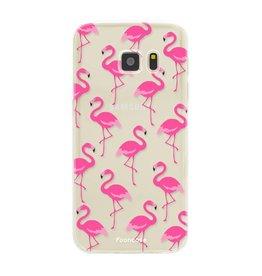 FOONCASE Samsung Galaxy S7 - Flamingo