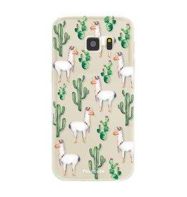 FOONCASE Samsung Galaxy S7 - Lama