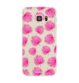 FOONCASE Samsung Galaxy S7 - Foglie rosa