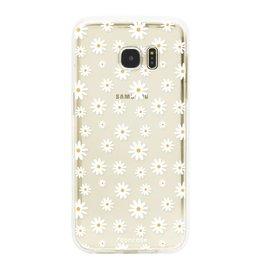 FOONCASE Samsung Galaxy S7 Edge - Gänseblümchen
