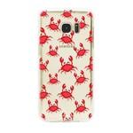 FOONCASE Samsung Galaxy S7 Edge - Krabben