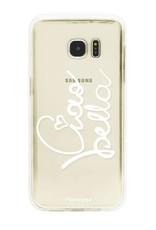 FOONCASE Samsung Galaxy S7 Edge Handyhülle - Ciao Bella!