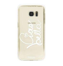 FOONCASE Samsung Galaxy S7 Edge - Ciao Bella!