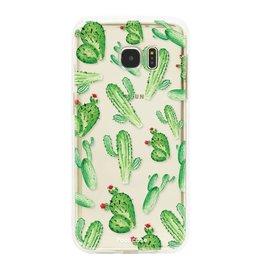FOONCASE Samsung Galaxy S7 Edge - Kaktus