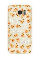 FOONCASE Samsung Galaxy S7 Edge Handyhülle - Pizza