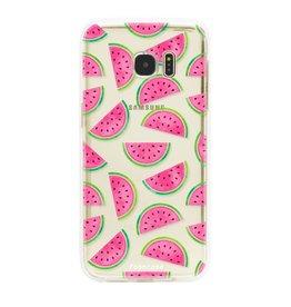 FOONCASE Samsung Galaxy S7 Edge - Watermelon