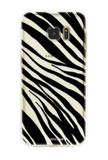 FOONCASE Samsung Galaxy S7 Edge Handyhülle - Zebra