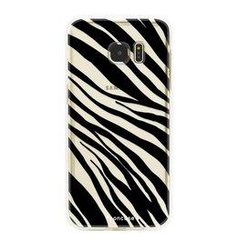 FOONCASE Samsung Galaxy S7 Edge - Zebra