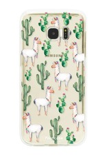 Samsung Samsung Galaxy S7 Edge Handyhülle - Lama