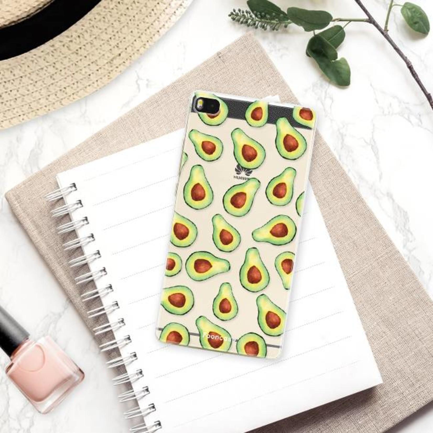 FOONCASE Huawei P8 Handyhülle - Avocado