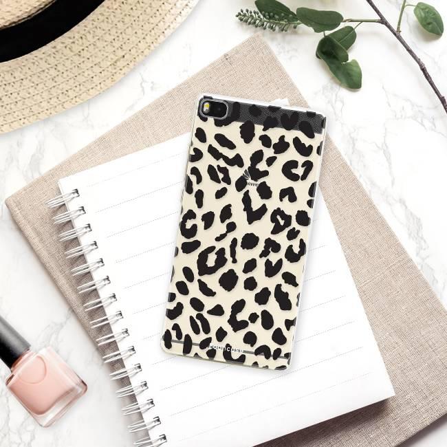 FOONCASE Huawei P8 Handyhülle - Leopard