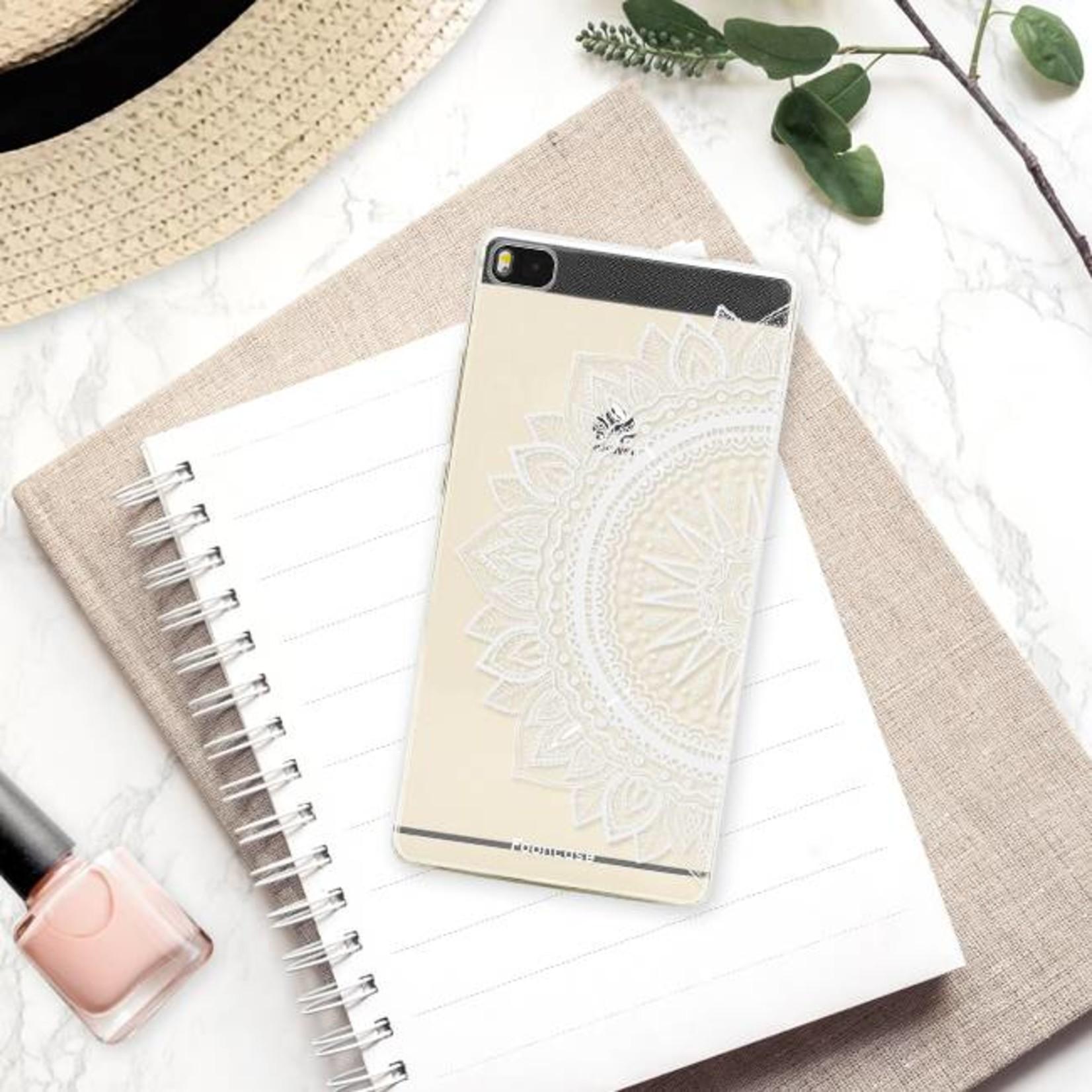 FOONCASE Huawei P8 Handyhülle - Mandala