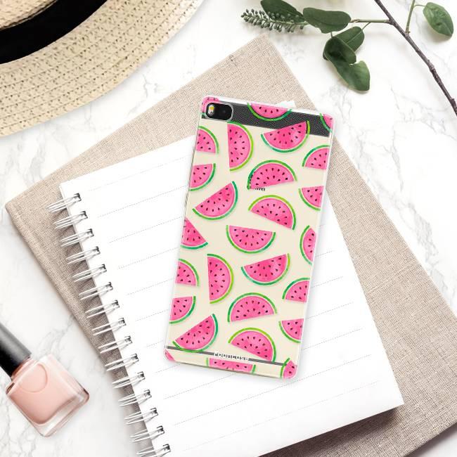 Huawei Huawei P8 Handyhülle - Wassermelone
