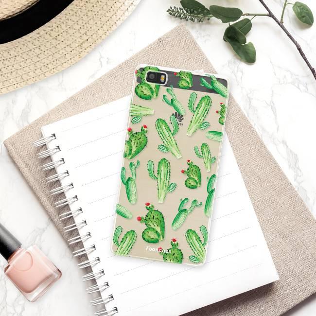FOONCASE Huawei P8 Lite 2016 Cover - Cactus