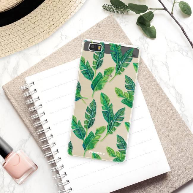 FOONCASE Huawei P8 Lite 2016 Case - Banana leaves