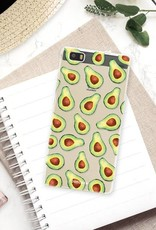 FOONCASE Huawei P8 Lite 2016 hoesje TPU Soft Case - Back Cover - Avocado