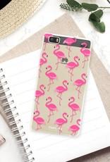 FOONCASE Huawei P8 Lite 2016 Case - Flamingo