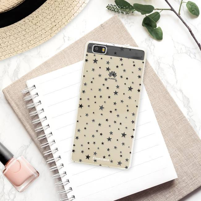 FOONCASE Huawei P8 Lite 2016 Handyhülle - Sterne