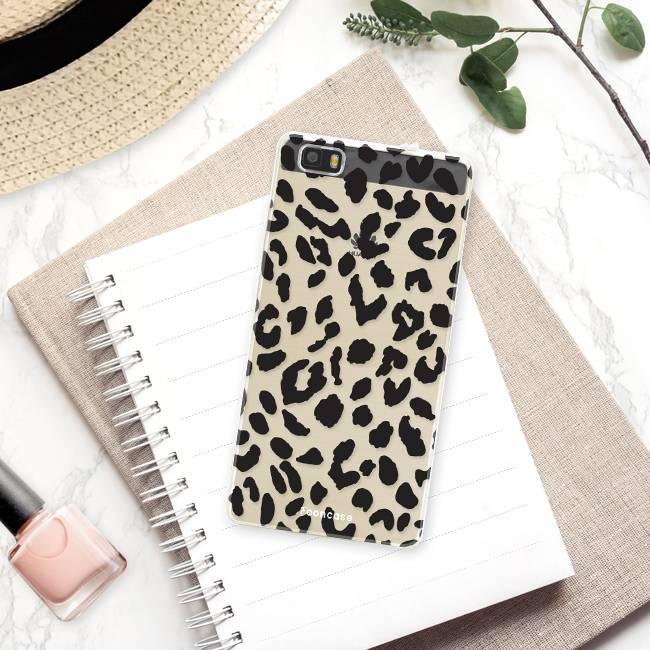 FOONCASE Huawei P8 Lite 2016 Cover - Leopardo