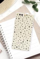 FOONCASE Huawei P9 hoesje TPU Soft Case - Back Cover - Stars / Sterretjes