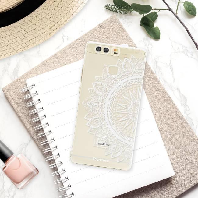 FOONCASE Huawei P9 hoesje TPU Soft Case - Back Cover - Mandala / Ibiza