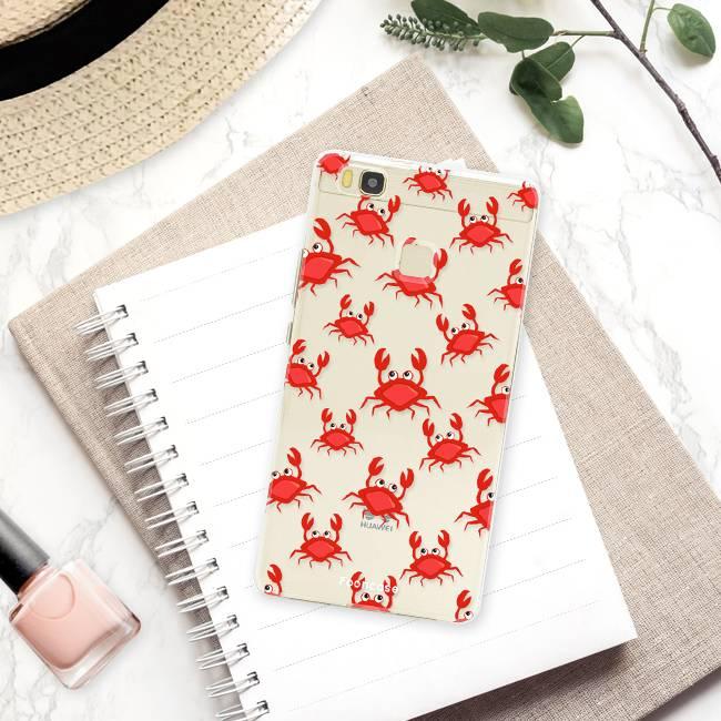 FOONCASE Huawei P9 Lite hoesje TPU Soft Case - Back Cover - Crabs / Krabbetjes / Krabben