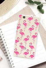 FOONCASE Huawei P9 Lite Handyhülle - Flamingo