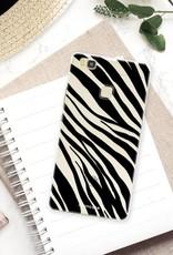 FOONCASE Huawei P9 Lite hoesje TPU Soft Case - Back Cover - Zebra print