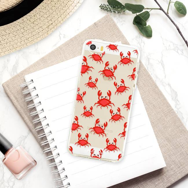 Apple Iphone 5 / 5S Handyhülle - Krabben