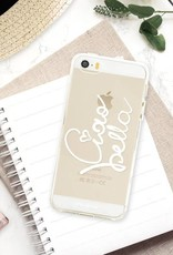 FOONCASE iPhone 5 / 5S hoesje TPU Soft Case - Back Cover - Ciao Bella!