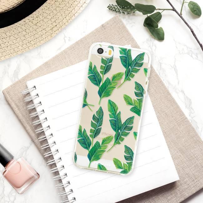 Apple Iphone 5 / 5S Handyhülle - Bananenblätter