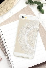 FOONCASE iPhone SE hoesje TPU Soft Case - Back Cover - Mandala / Ibiza