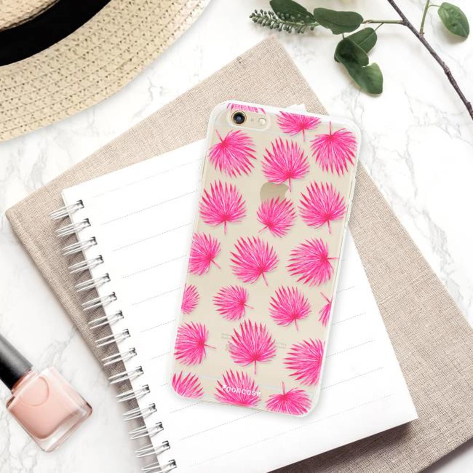 FOONCASE Iphone 6 / 6S Handyhülle - Rosa Blätter