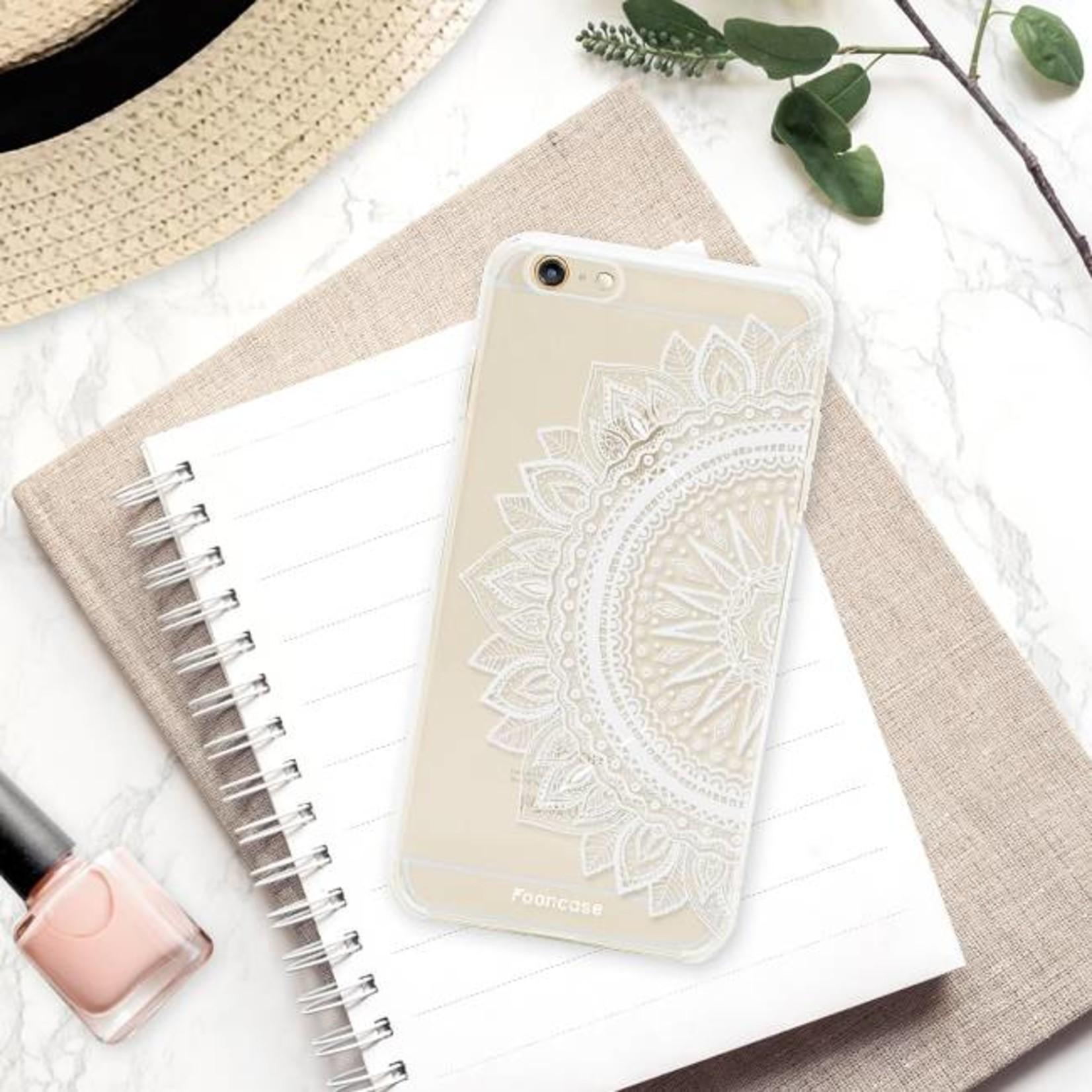 FOONCASE iPhone 6 Plus hoesje TPU Soft Case - Back Cover - Mandala / Ibiza