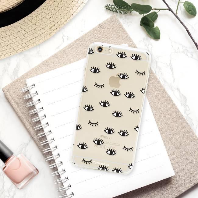 FOONCASE iPhone 6 Plus hoesje TPU Soft Case - Back Cover - Eyes / Ogen