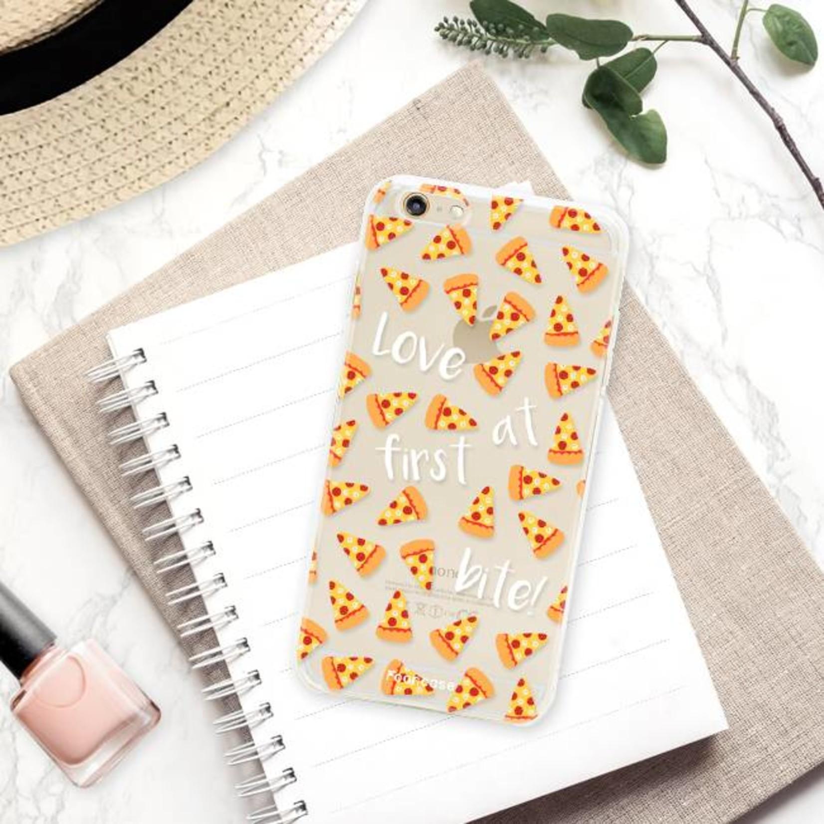 FOONCASE iPhone 6 Plus hoesje TPU Soft Case - Back Cover - Pizza / Food