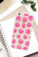 Apple Iphone 6 Plus Handyhülle - Rosa Blätter