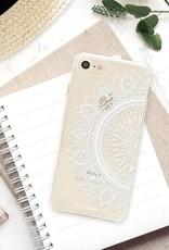 FOONCASE iPhone 7 hoesje TPU Soft Case - Back Cover - Mandala / Ibiza