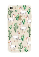 FOONCASE Iphone 7 Handyhülle - Lama
