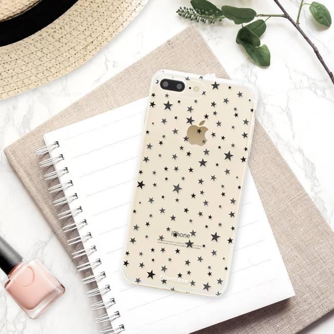 FOONCASE Iphone 7 Plus Handyhülle - Sterne