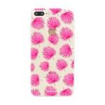 FOONCASE Iphone 7 Plus - Pink leaves