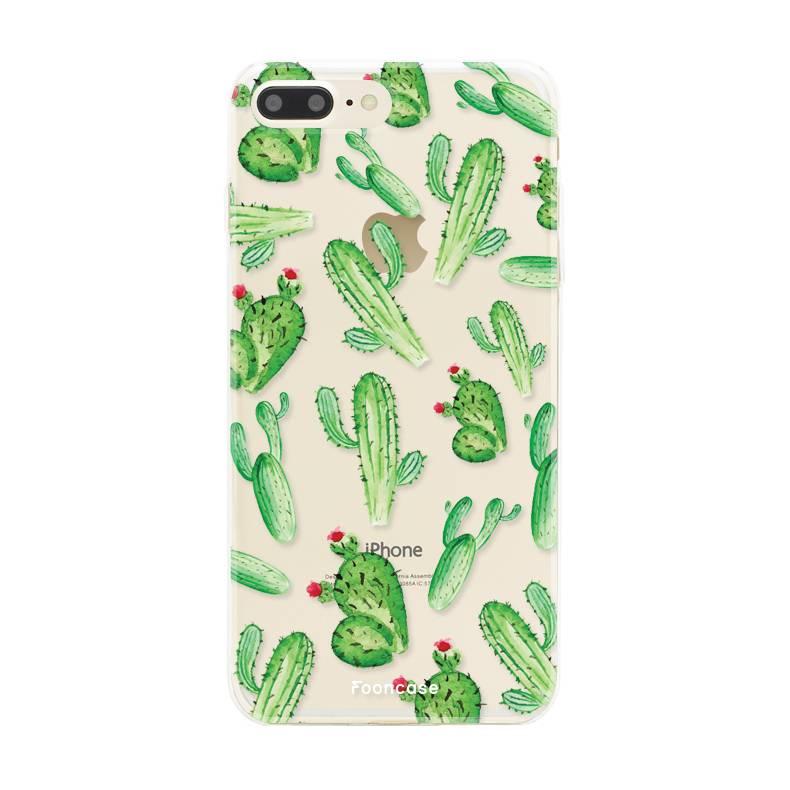 Apple Iphone 7 Plus hoesje - Cactus